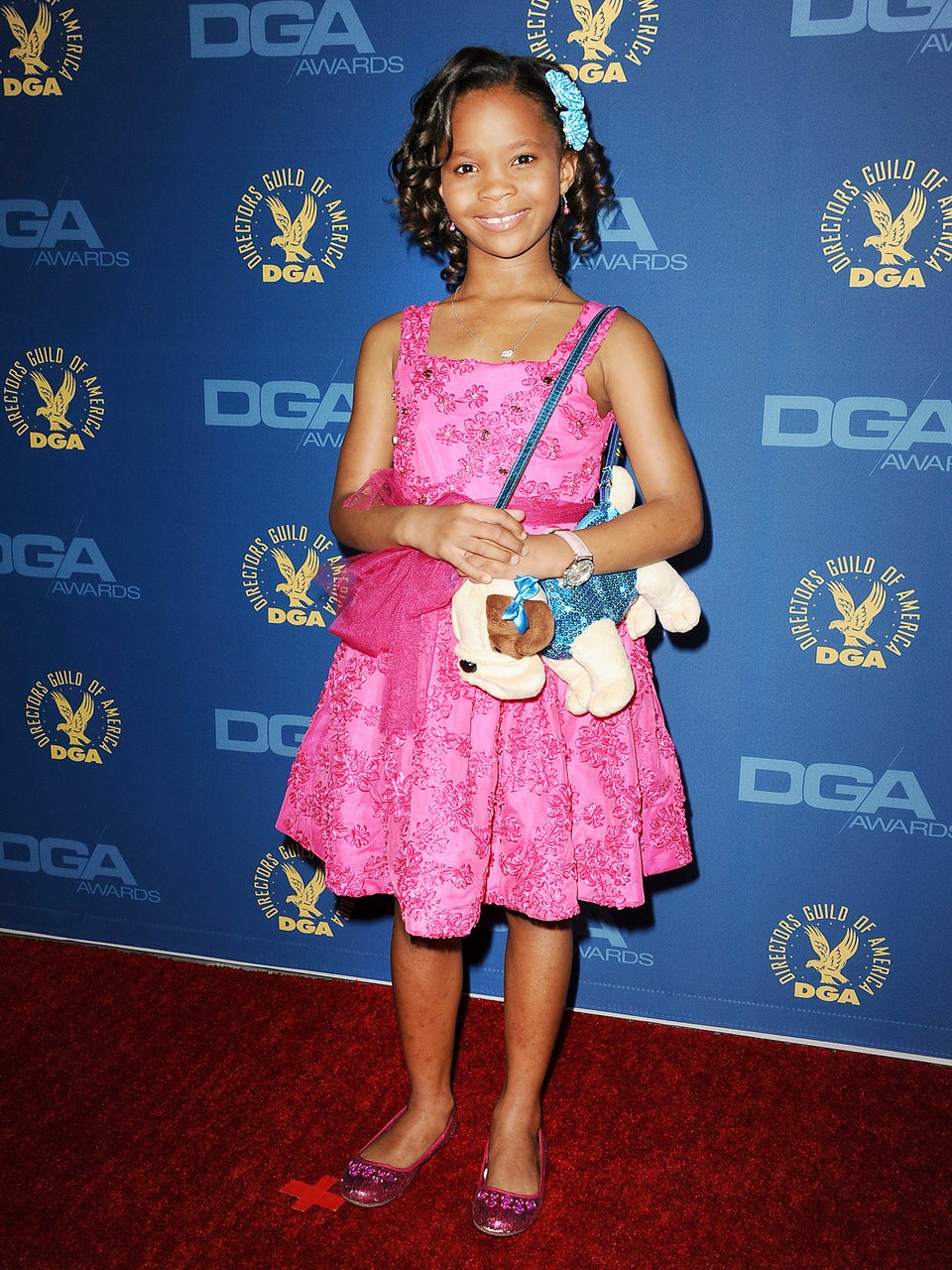 Quvenzhané Wallis Heads to the White House for Special Workshop