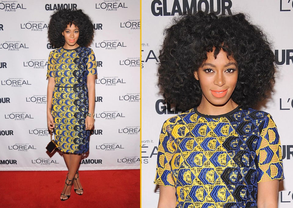 Celeb Beauty: Solange Knowles' Candy-Colored Lips