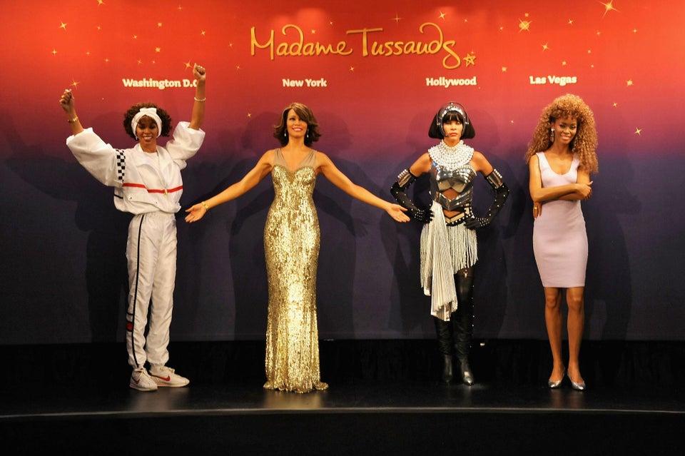 Madame Tussauds Unveils Four Whitney Houston Wax Figures