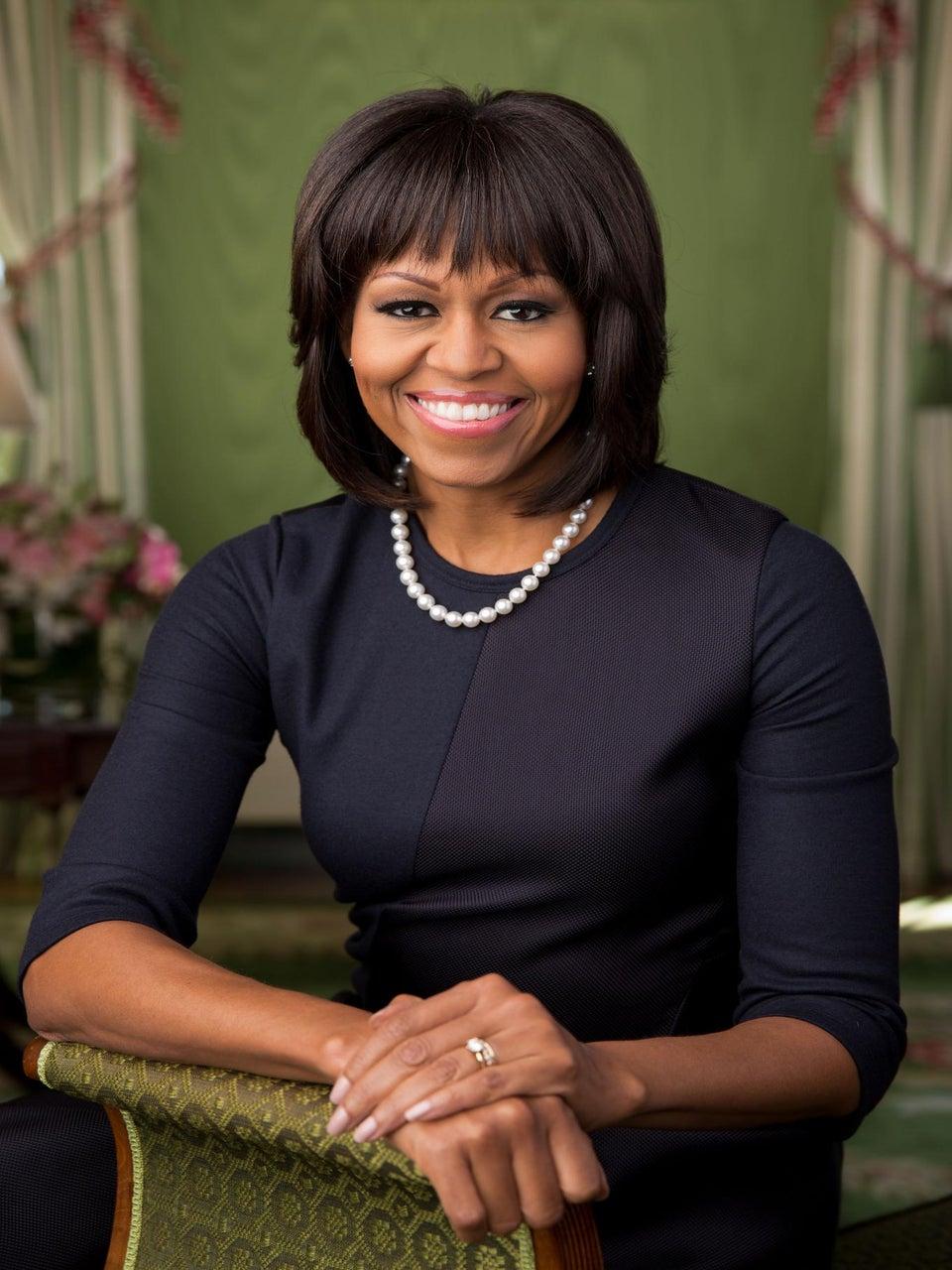 Michelle Obama Debuts Second Term Portrait