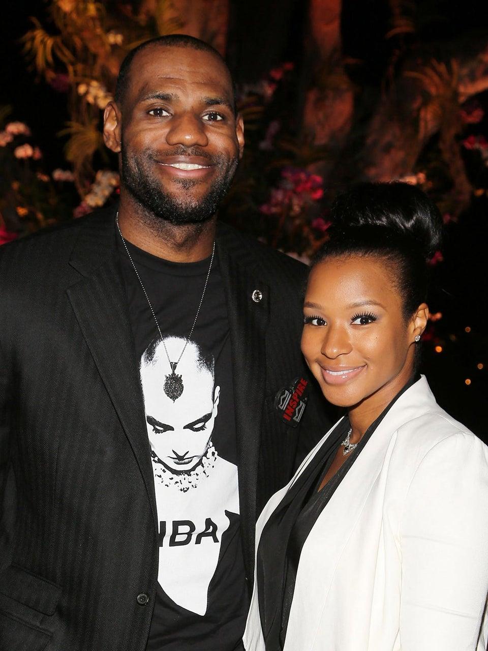 LeBron James and Savannah Brinson Set Wedding Date