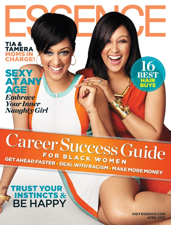 Tia and Tamera Grace the April Cover of ESSENCE