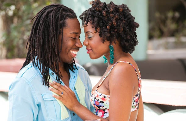 Just Engaged: Love On Fire