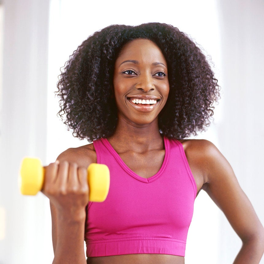 Don't Sweat It: Gym-Proof Natural Hairstyles