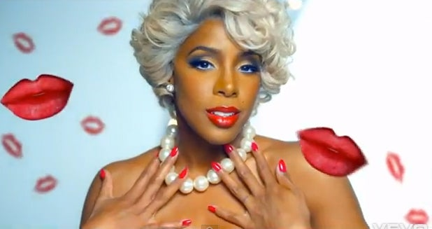 Must-See: Watch Kelly Rowland's New Video 'Kisses Down Low'