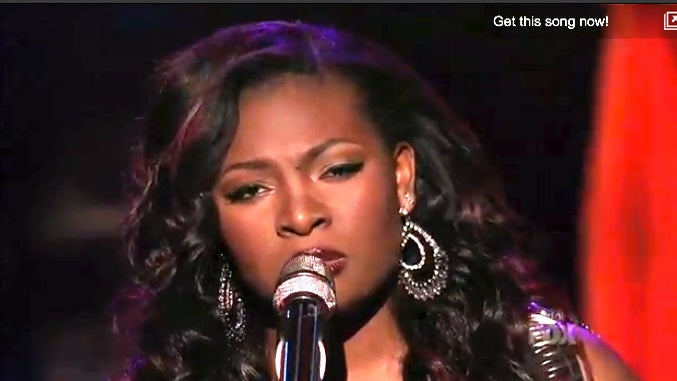 Must-See: 'American Idol' Finalist Candice Glover Sings 'I Who Have Nothing'