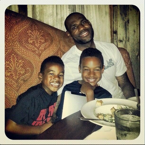 lebron james most adorable family photos essence