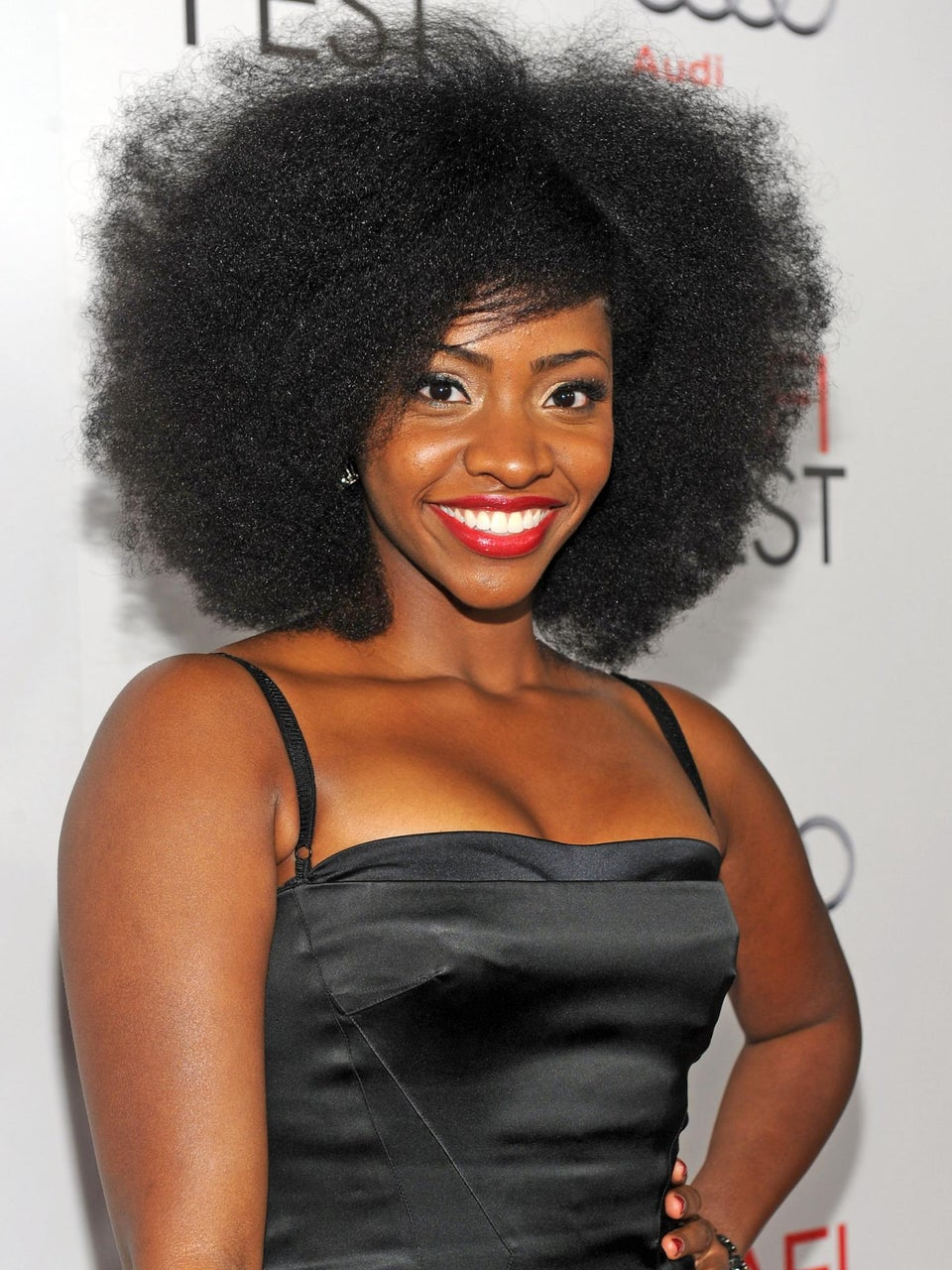 Curly Commentary: Teyonah Parris' Natural Hair Epiphany