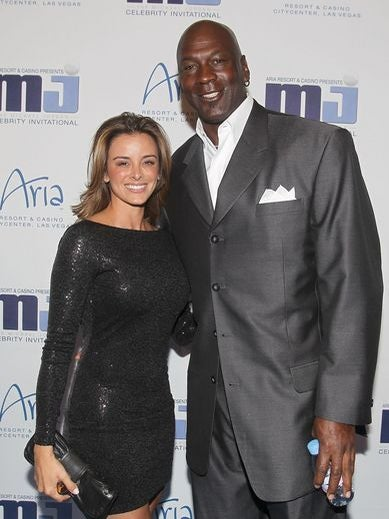 Michael Jordan Weds Yvette Prieto
