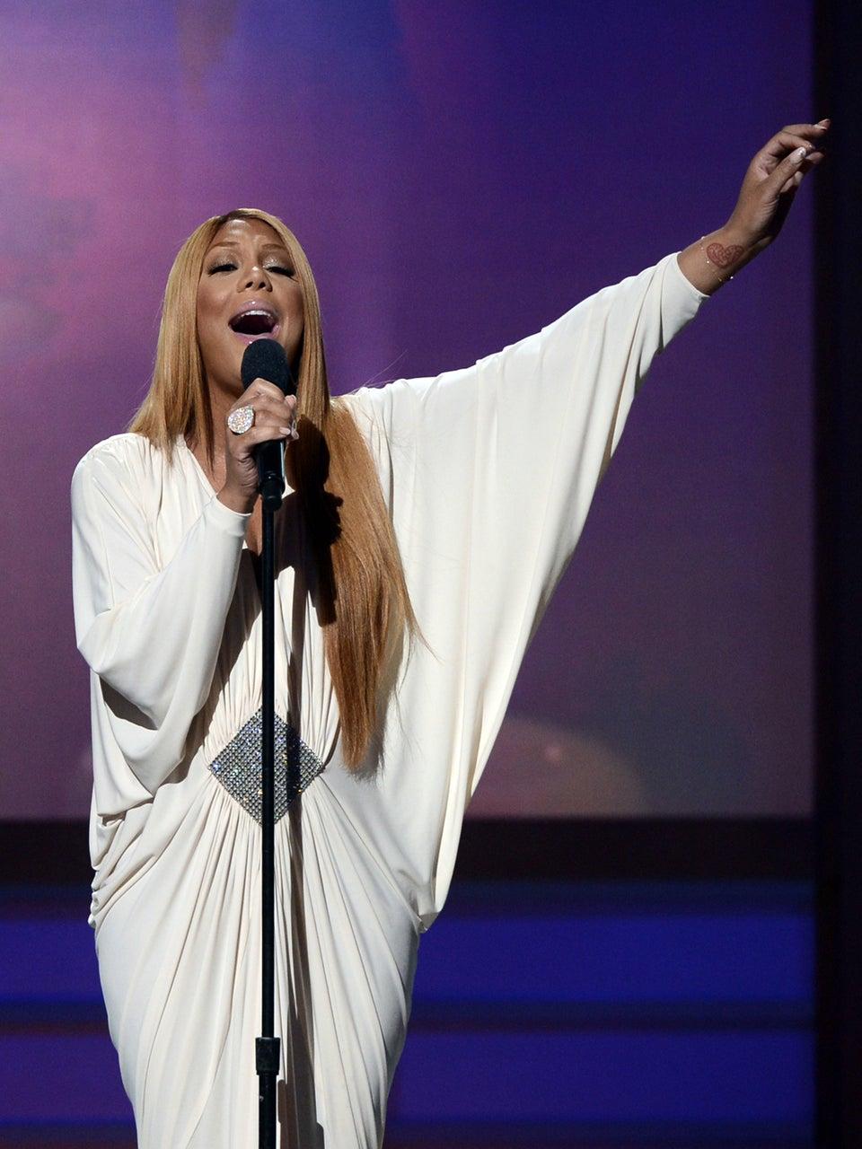 Must-See: Tamar Braxton Sings 'Be Grateful' at BET's Celebration of Gospel