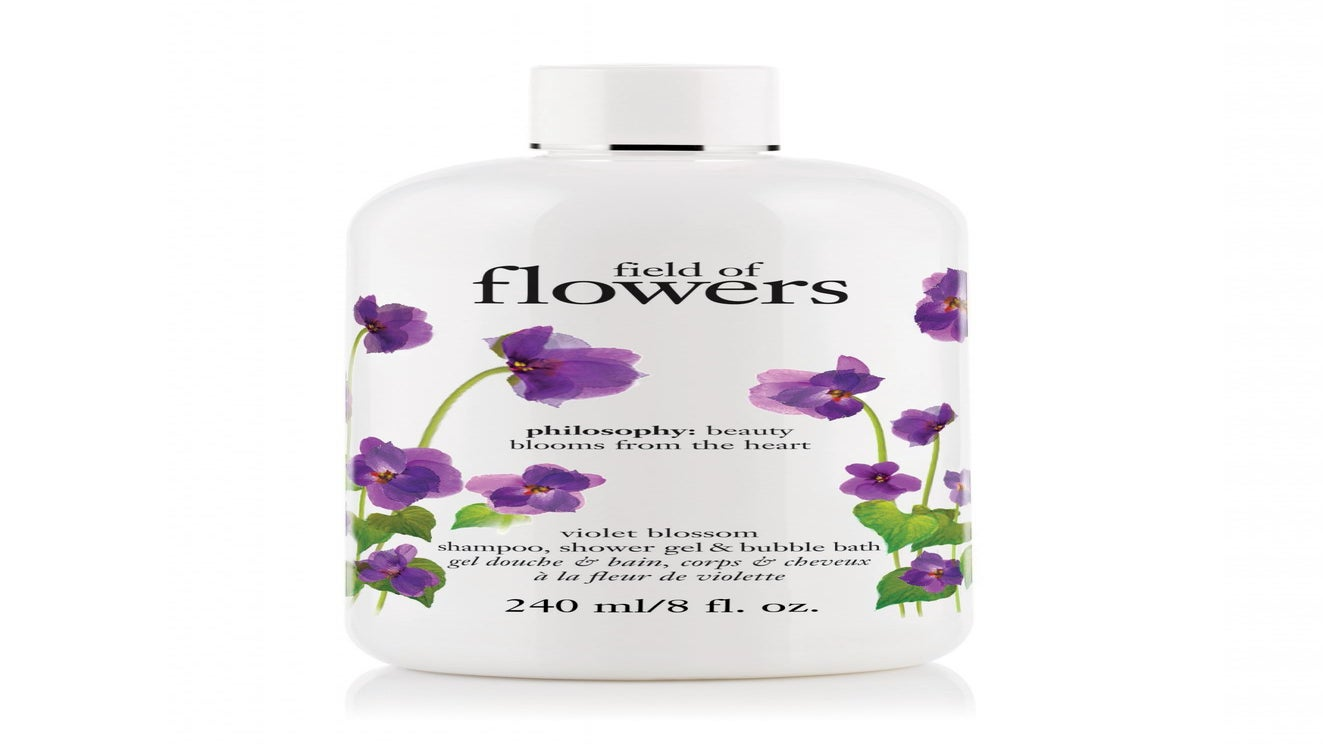 1 Product, 3 Ways: Philosophy Field of Flowers Violet Blossom