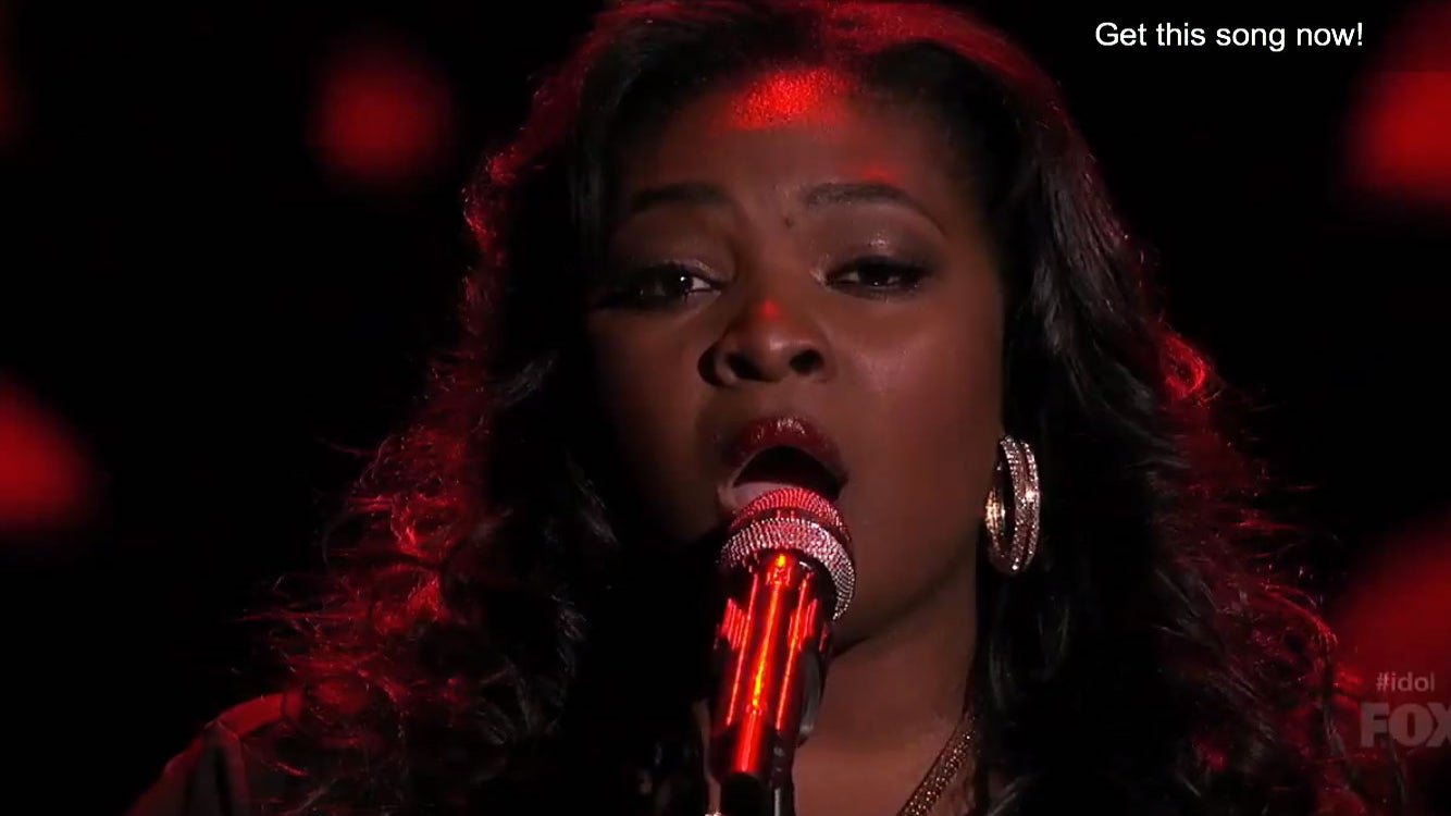 Must-See: 'American Idol' Star Candice Glover Sings 'Lovesong'