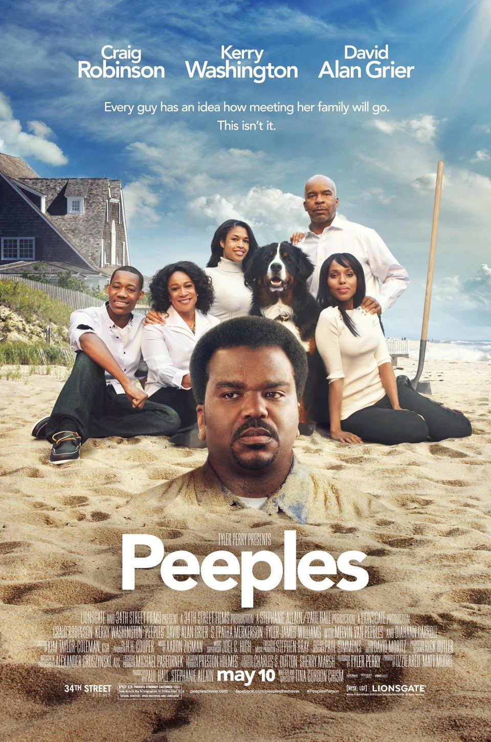 EXCLUSIVE: See the Official Poster for 'Peeples' Starring Kerry Washington