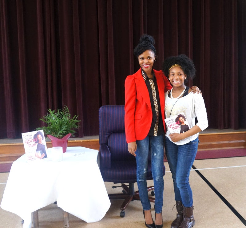 CurlyNikki Visits Girls Inc. of St. Louis