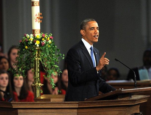 President Obama Addresses Boston at Interfaith Service