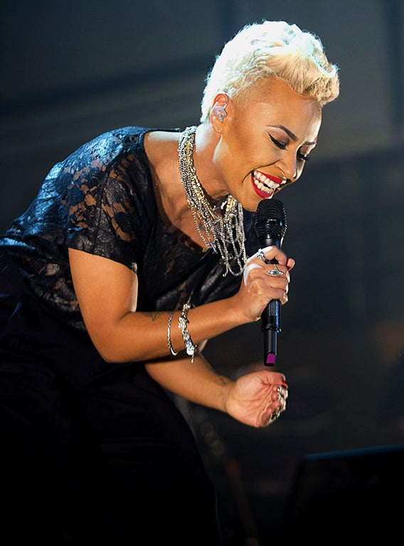 EXCLUSIVE: Emeli Sande on Her Childhood, Using Music As An Outlet