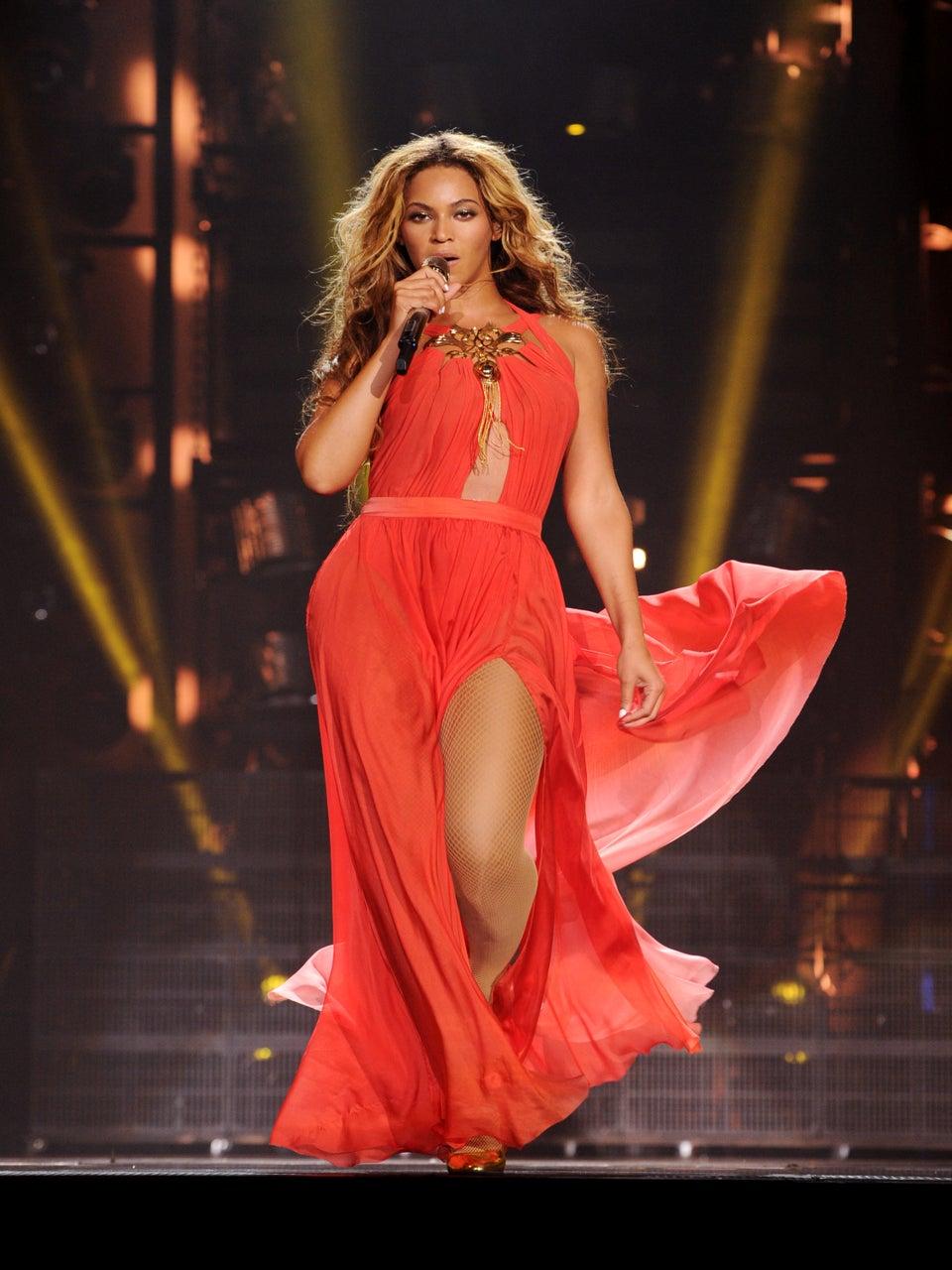 Beyoncé Brings Blue Ivy on Stage, Talks More Kids