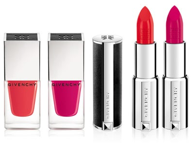 Pretty in Pink: Givenchy Le Rouge Lipstick and Le Vernis Nail Shades