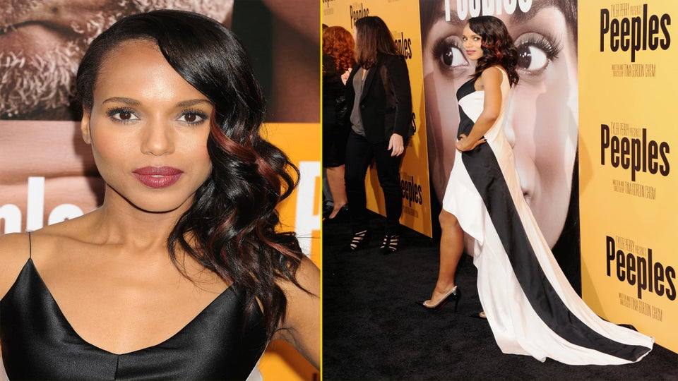 EXCLUSIVE: Kerry Washington Talks 'Peeples' and Doing Comedies