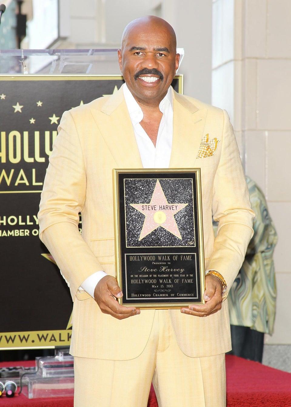 Coffee Talk: Steve Harvey Earns Star on Hollywood Walk of Fame