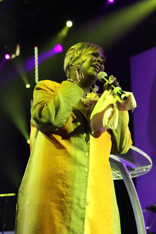 Gospel Singer Lady Tramaine Hawkins on ESSENCE Festival & Community Service