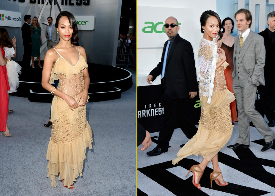 Zoe Saldana on Sexuality: 'I Might End Up with a Woman'