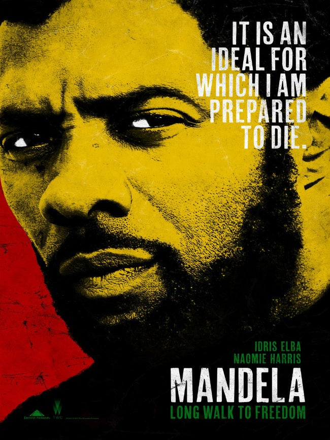 First Look: Idris Elba as Nelson Mandela in New Biopic