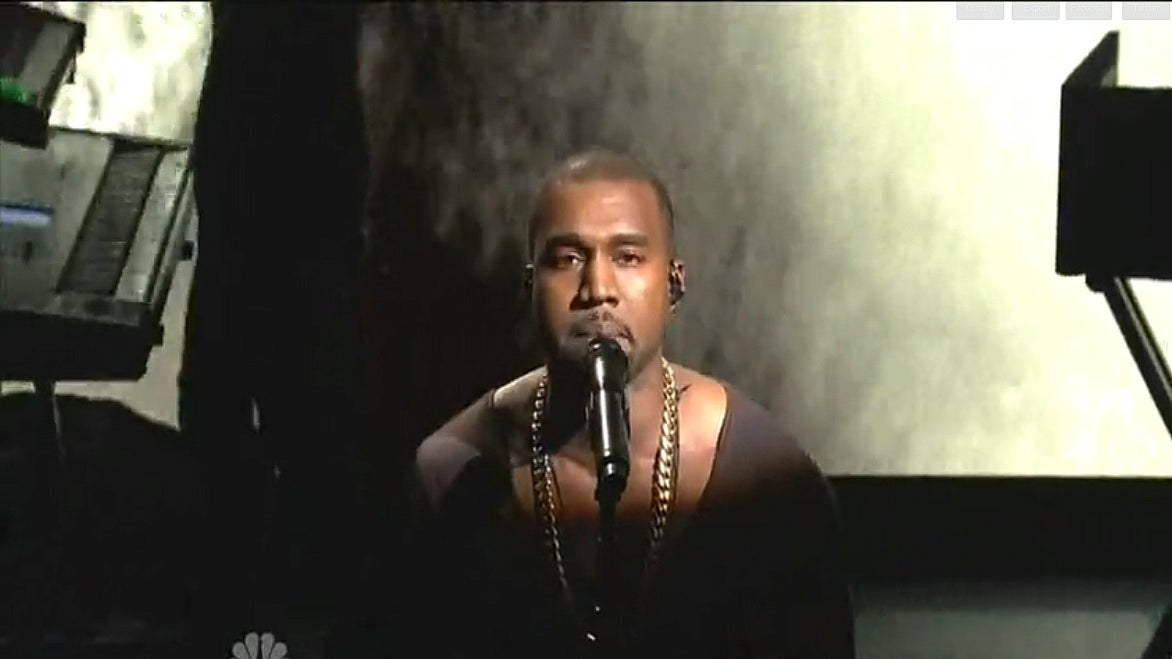 Must-See: Kanye West Performs 'New Slave' on 'Saturday Night Live'