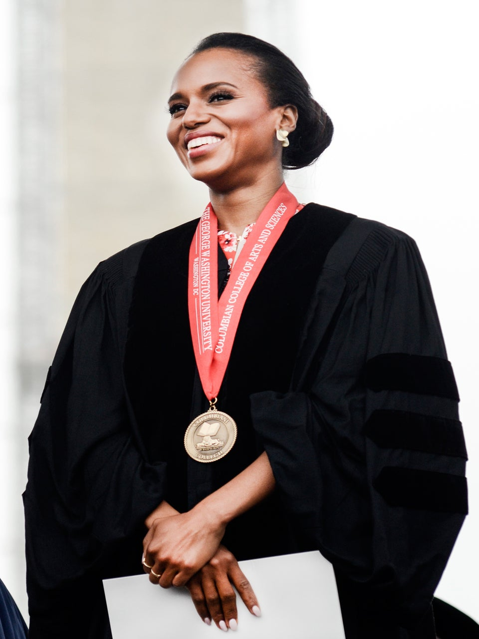 Must-See: Kerry Washington Delivers George Washington University Commencement Speech