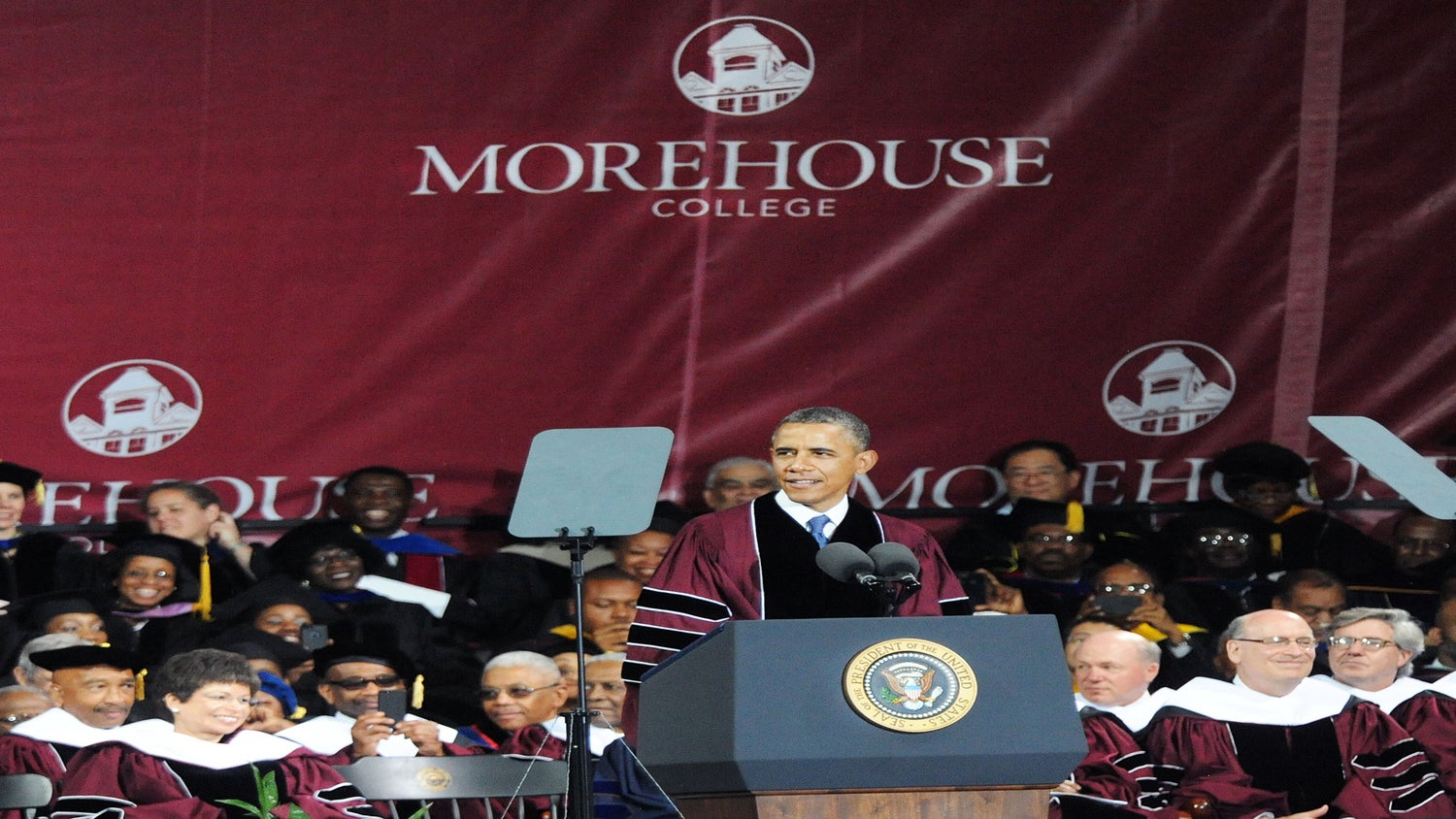 Must-See: Watch the President and First Lady's Graduation Speeches