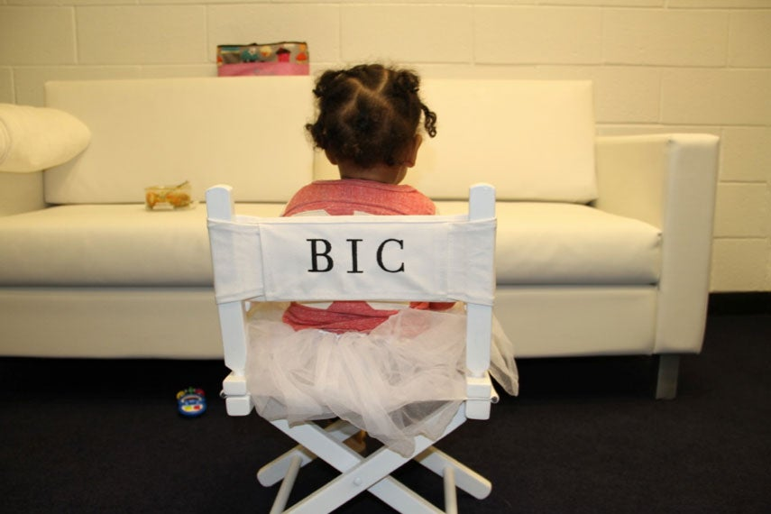Photo Fab: Blue Ivy Carter Goes on Tour with Beyoncé