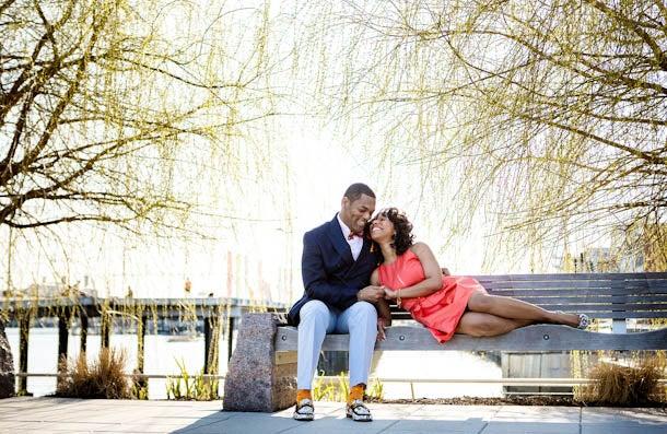 Just Engaged: Lori and Randolph