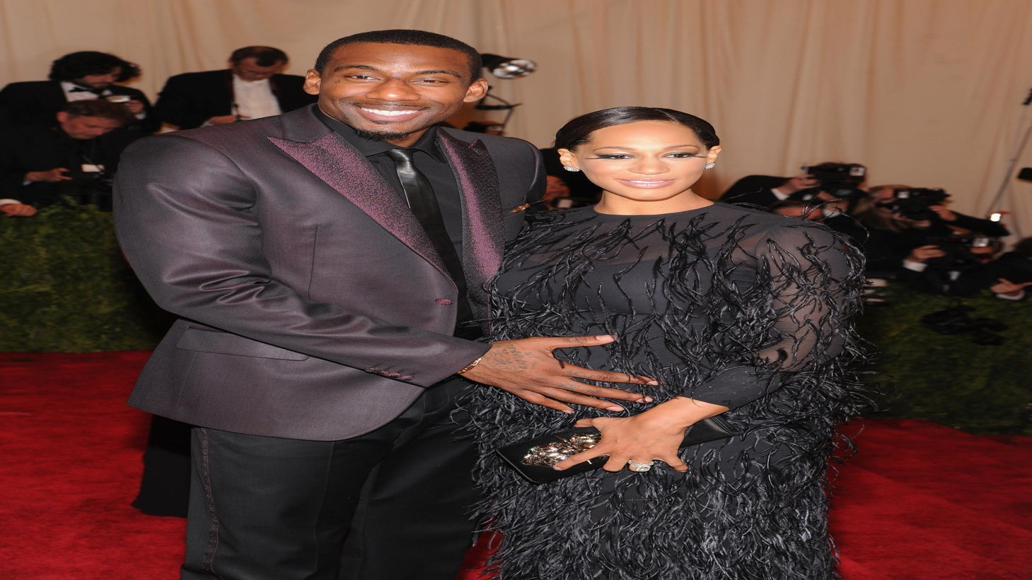 Amar'e Stoudemire and Wife Reveal Baby Name