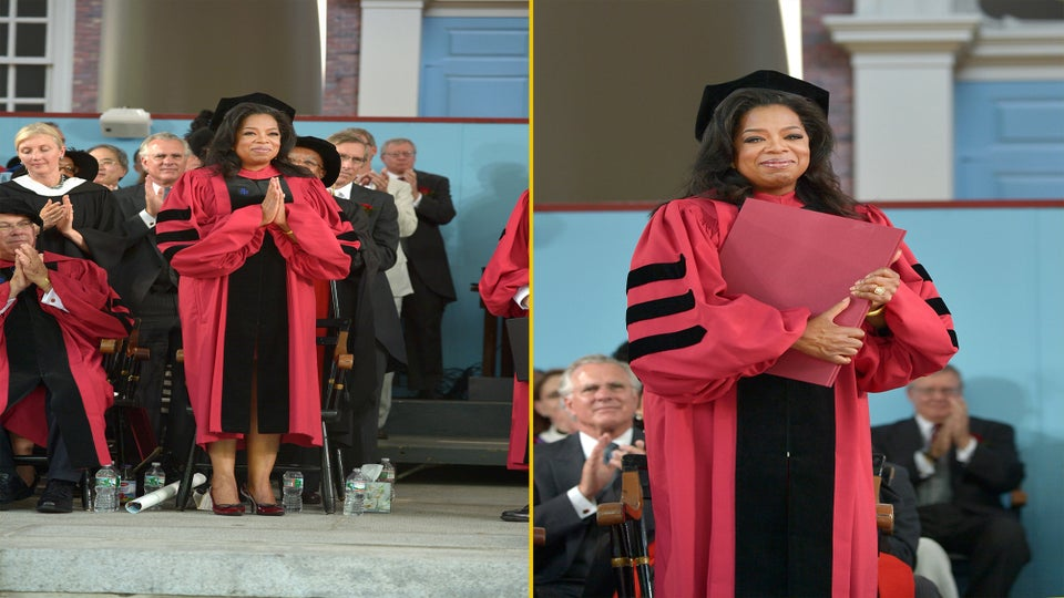 Oprah Gives Inspiring Commencement Speech to Harvard