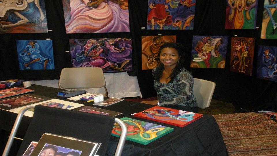 "Vendor Spotlight: Sharika Mahdi's ""Art By Sharika"""