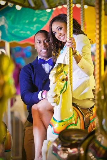 Just Engaged: Candi and Braxton