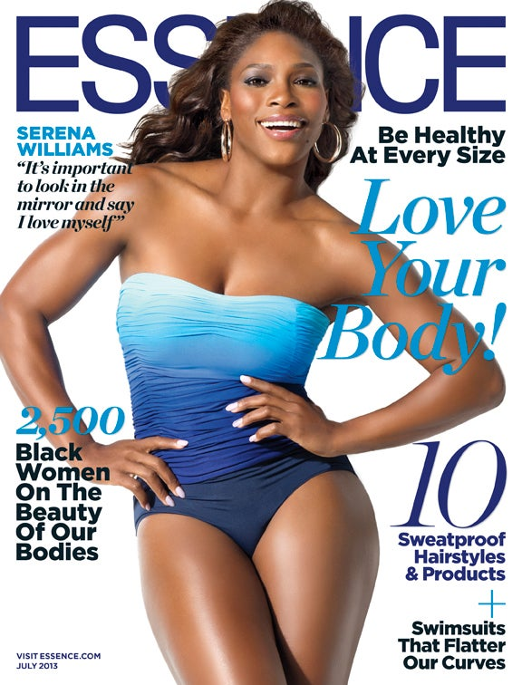 Serena Williams Graces the July Issue of ESSENCE