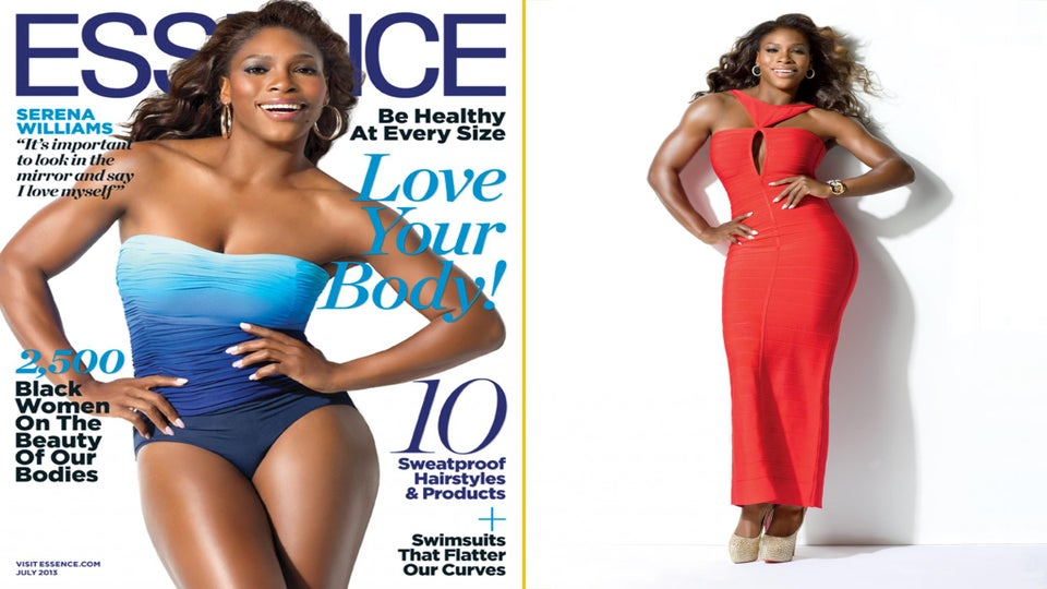 Serena Williams (and You!) Answer Our 'Body Issue' Questions