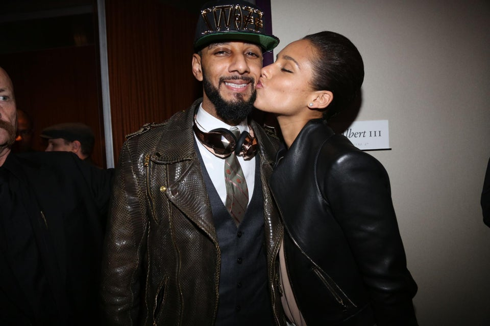 Alicia Keys Talks Love with Swizz Beatz in Marie Claire UK