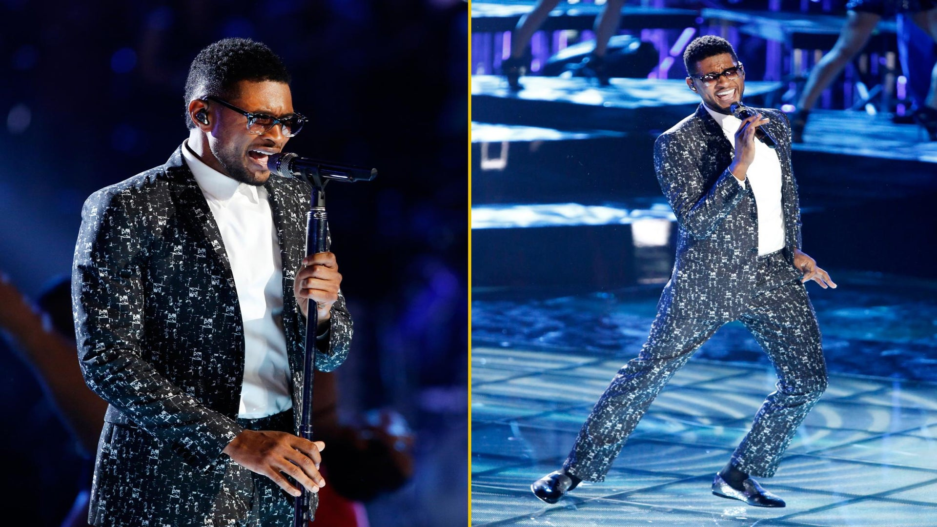 Must-See: Usher Channels James Brown on 'The Voice'