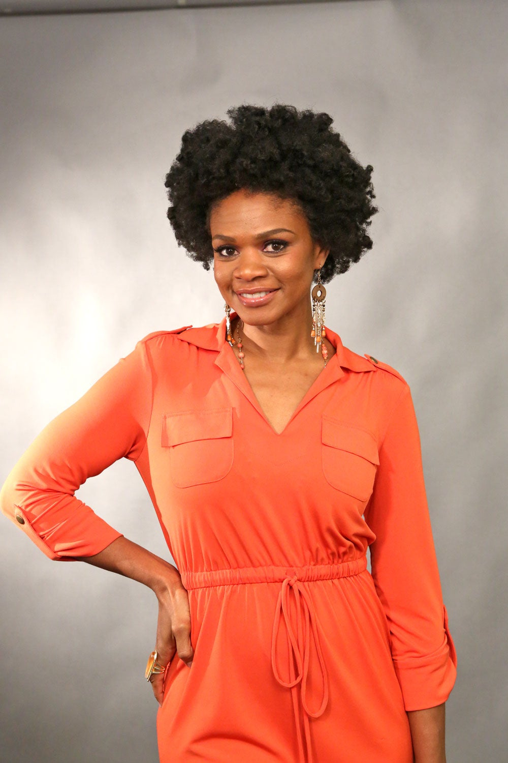 Curly Commentary: Kimberly Elise on Learning to Love Her Hair