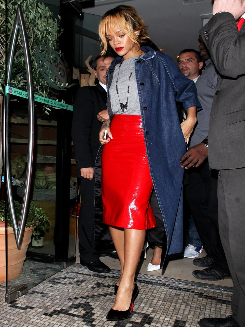 Man Arrested for Trespassing At Rihanna's Home