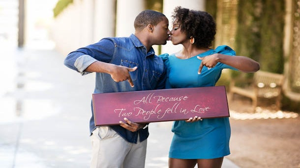 Just Engaged: Love Is a Blessing