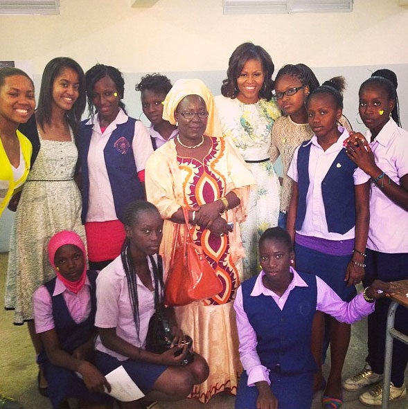 Michelle Obama Joins Instagram