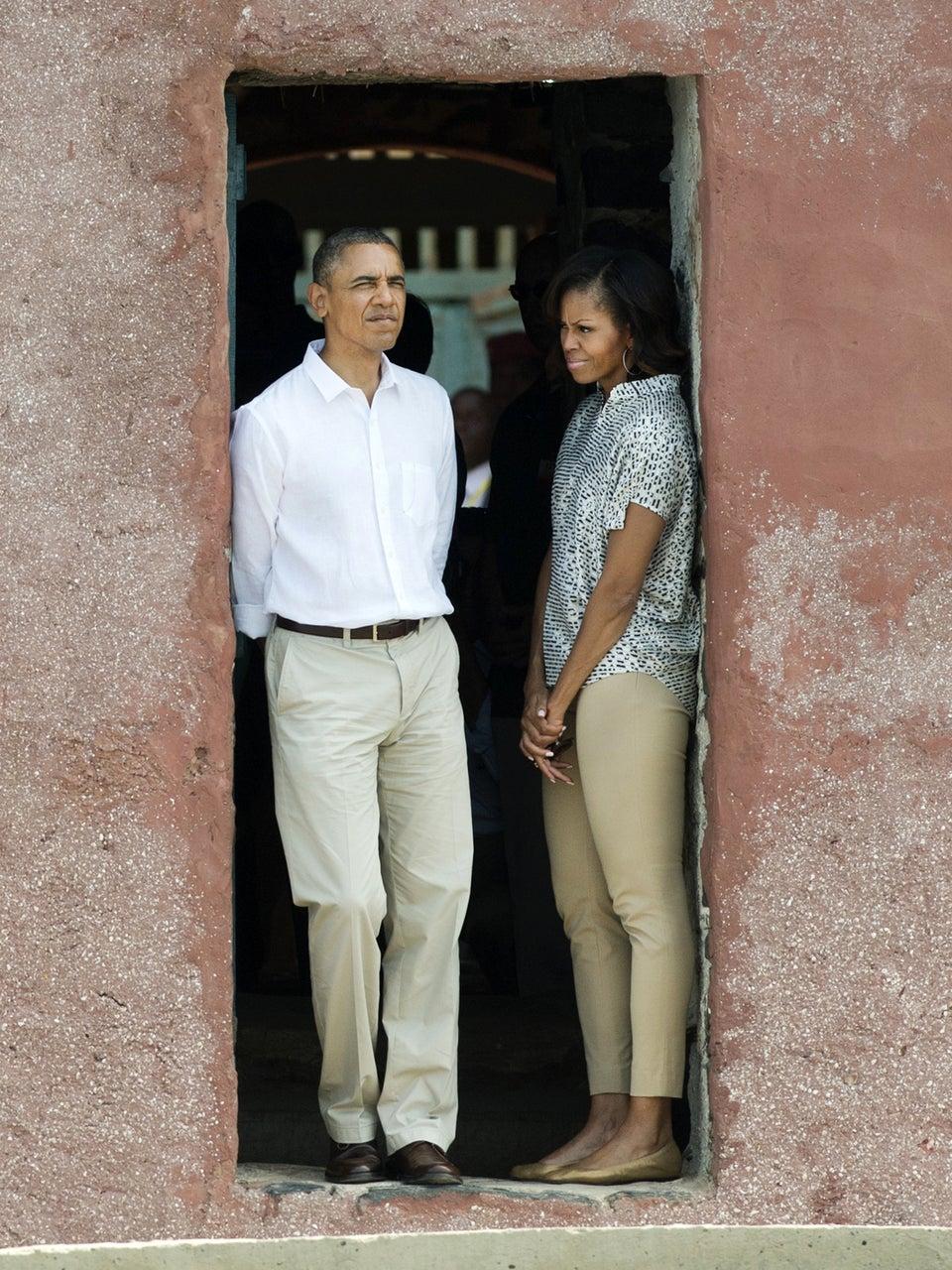 Michelle Obama Writes Emotional Essay About Goree Island