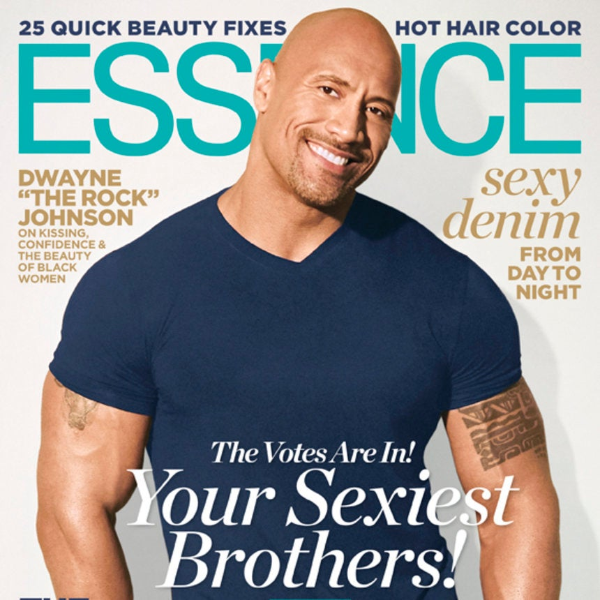Dwayne 'The Rock' Johnson Graces the August Cover of ESSENCE