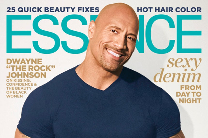 Dwayne 'The Rock' Johnson Graces the August Cover of ESSENCE ...