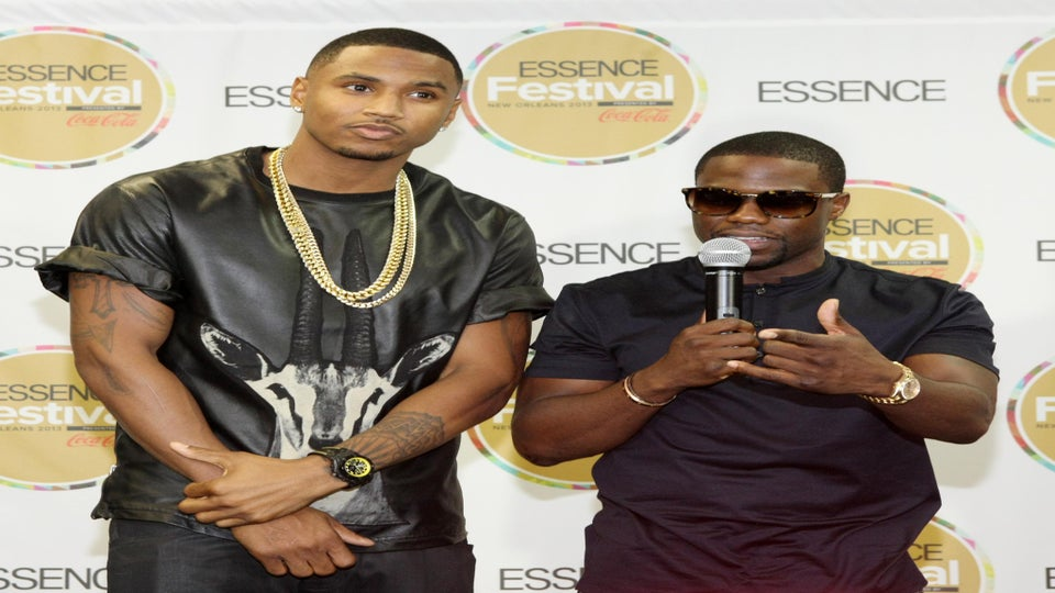 ESSENCE Festival: Kevin Hart Takes Over Trey Songz' Press Conference