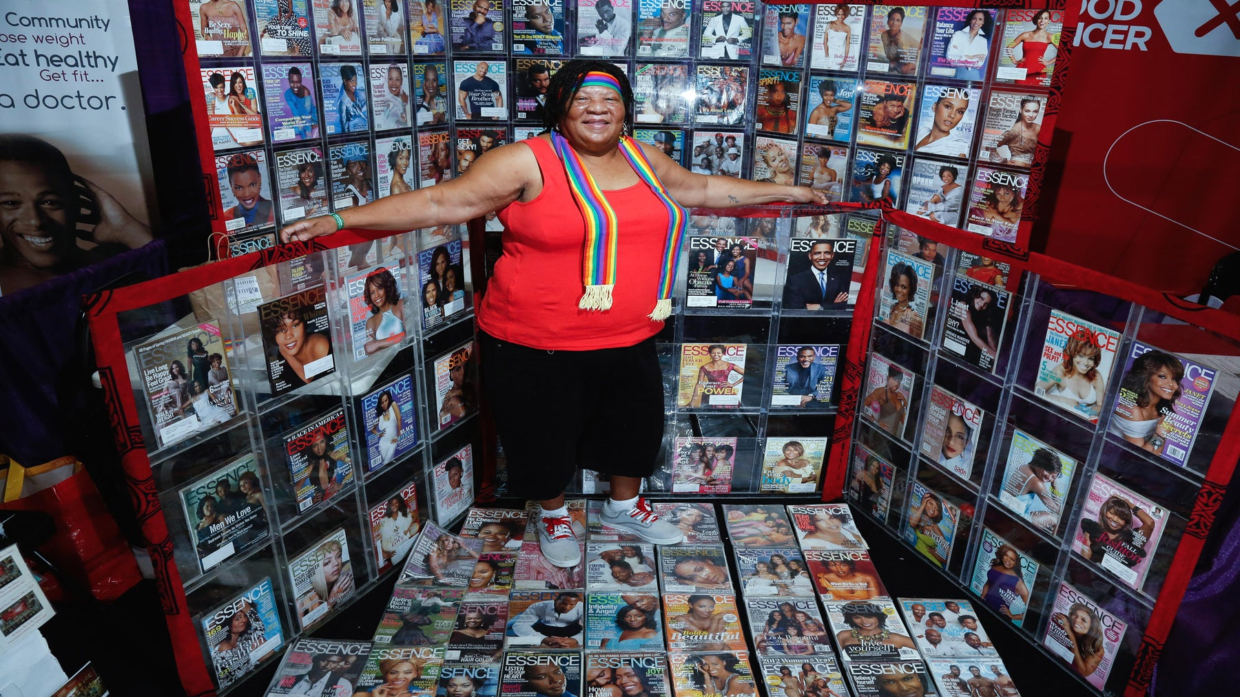 How Do You Collect 250 Issues of ESSENCE? This ESSENCE Festival Vendor Has the Answer
