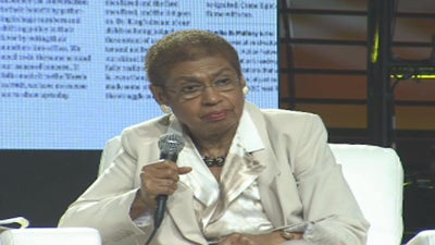 ESSENCE Festival: Eleanor Holmes Norton Offers Advice to Today's Youth